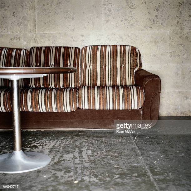 Sofa and Table in a Nightclub