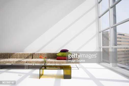 Sofa in a modern living room : Foto stock