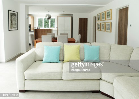 Sofa in living area