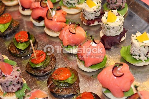 Canape stock photo thinkstock for Canape aperitif