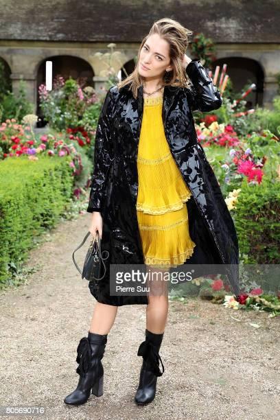 Sofa Sanchez de Betak attends the Rodarte Haute Couture Fall/Winter 20172018 show as part of Haute Couture Paris Fashion Week on July 2 2017 in Paris...