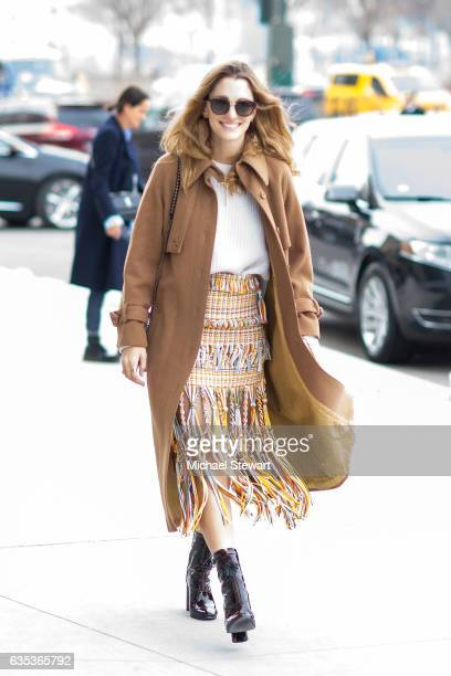 Sofa Sanchez de Betak seen at the Tory Burch fashion show during New York Fashion Week Day 6 on February 14 2017 in New York City