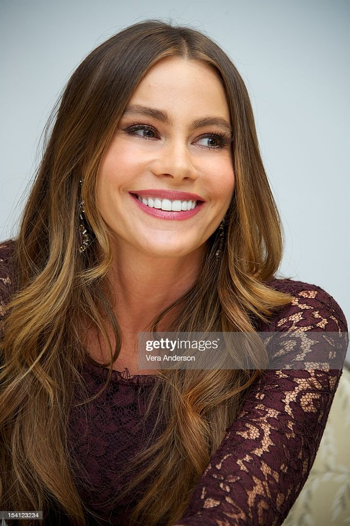 Sof?a Vergara at the 'Modern Family' Press Conference at the Four Seasons Hotel on October 11, 2012 in Beverly Hills, California.