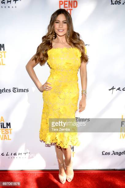 Sofía Vergara attends the 'The Female Brain' Premiere during the 2017 Los Angeles Film Festival at Arclight Cinemas Culver City on June 17 2017 in...
