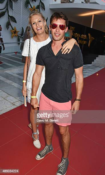 Sofa Wellesley and James Blunt attend as Casamigos founders Rande Gerber George Clooney and Mike Meldman host the official launch of Casamigos...