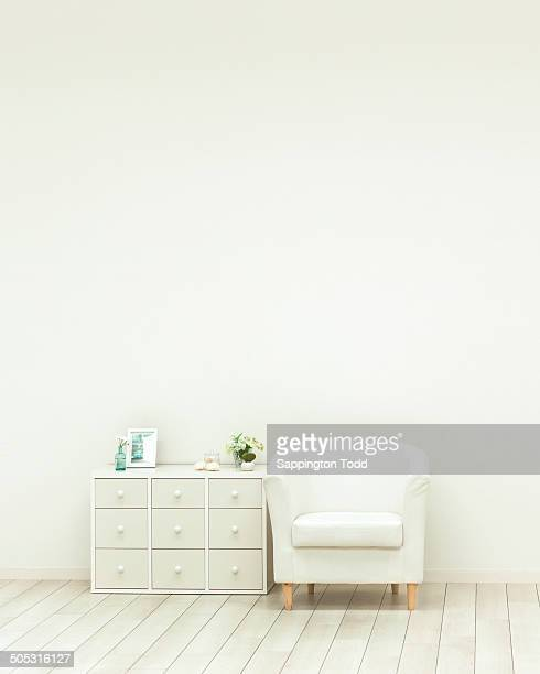 Sofa With White Wall