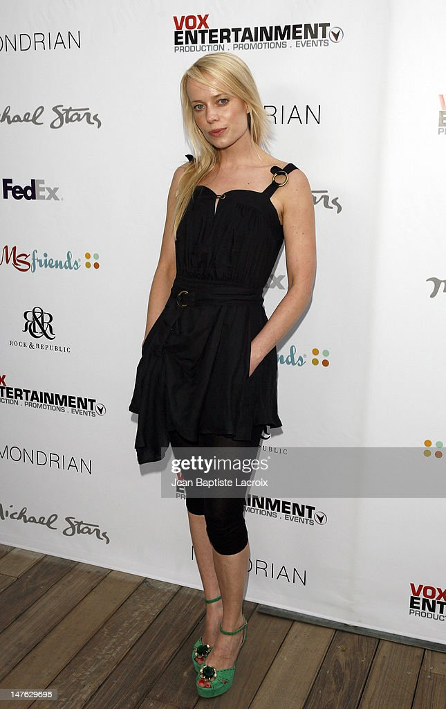 Sofi Bonde during Rock and Shop for MS at Sky Bar at the Mondrian in Hollywood, California, United States.