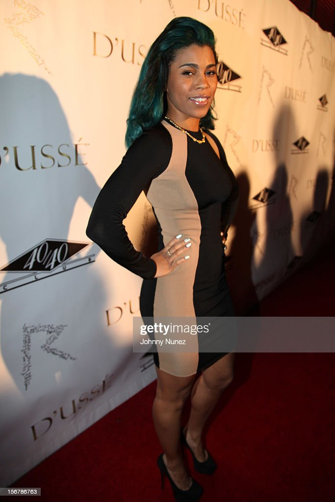 Sofi Green attends Rihanna's 'Unapologetic' Record Release Party at 40 / 40 Club on November 20, 2012 in New York City.