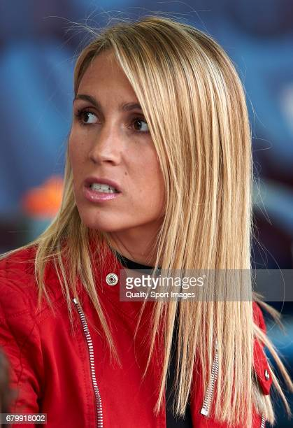Sofia Balbi wife of Luis Suarez prior the La Liga match between FC Barcelona and Villarreal CF at Camp Nou Stadium on May 6 2017 in Barcelona Spain
