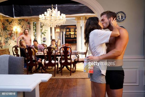 Sofia BlackD'Elia and guest star Andy Favreau in the 'Condom' episode of THE MICK airing Tuesday Jan 17 831901 PM ET/PT on FOX