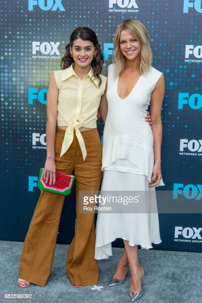 Sofia BlackD'Elia and Kaitlin Olson attend the 2017 FOX Upfront at Wollman Rink Central Park on May 15 2017 in New York City