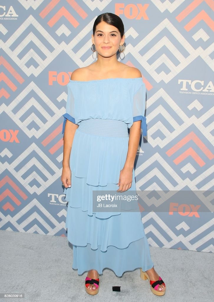 Sofia Black-D'Elia attends the 2017 Summer TCA Tour 'Fox' on August 08, 2017 in Los Angeles, California.