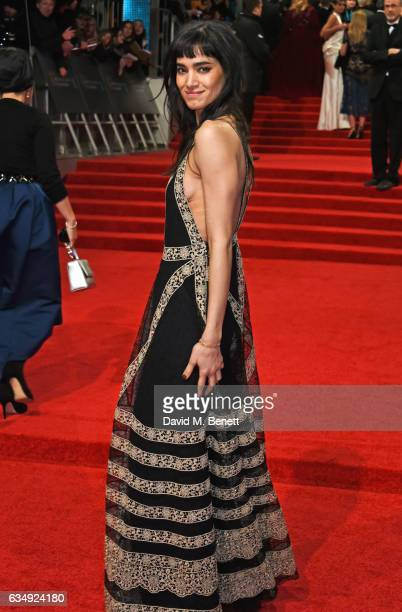 Sofia Boutella attends the 70th EE British Academy Film Awards at Royal Albert Hall on February 12 2017 in London England