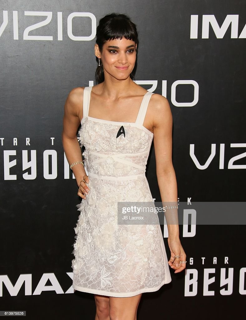 Sofia Boutella attends the premiere of Paramount Pictures' 'Star Trek Beyond' at Embarcadero Marina Park South on July 20, 2016 in San Diego, California.