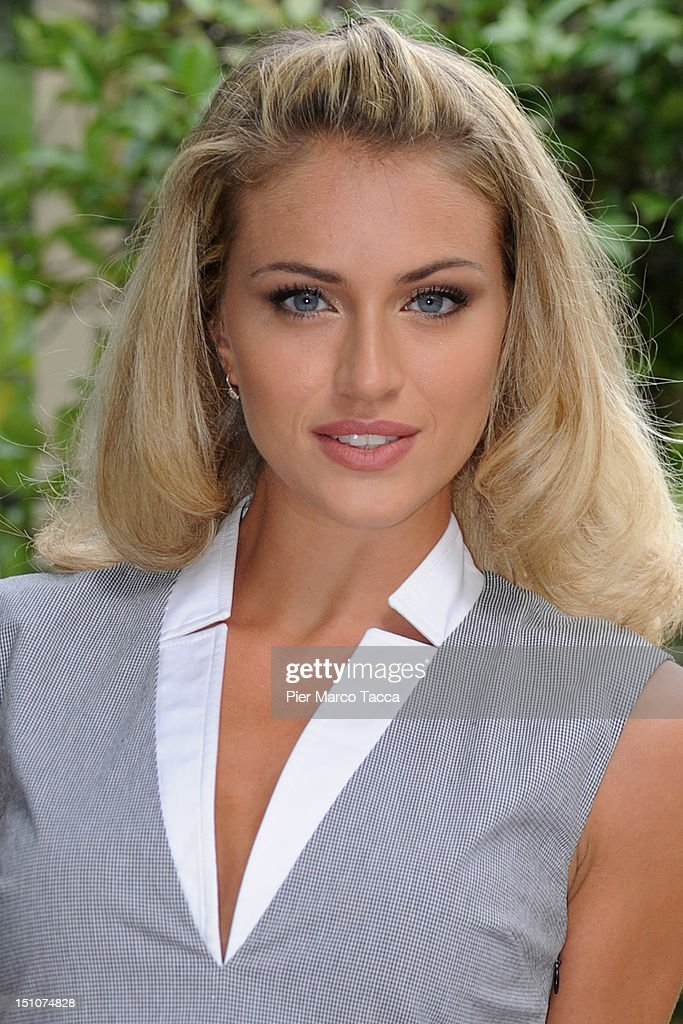 Sofia Bruscoli attends RAI 1 TV programmes presentation at Hotel Westin Palace on August 31, 2012 in Milan, Italy.