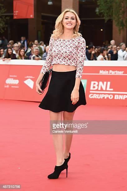 Sofia Bruscoli attends the 'Il Mio Papa' Premiere during the 9th Rome Film Festival on October 16 2014 in Rome Italy