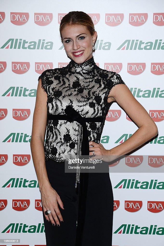 Sofia Bruscoli attends the Jet Set Party Alitalia at Residenza di Ripetta on November 10, 2012 in Rome, Italy.