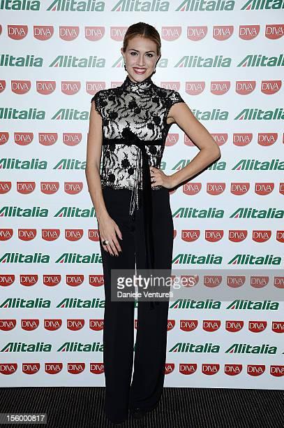 Sofia Bruscoli attends the Jet Set Party Alitalia at Residenza di Ripetta on November 10 2012 in Rome Italy