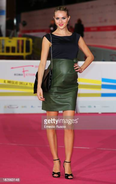Sofia Bruscoli attends the 'L' Assalto' photocall during the Roma Fiction Fest 2013 on September 30 2013 in Rome Italy