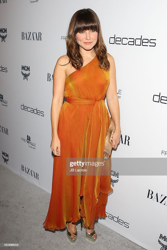 Sofia Bush attends the Dukes Of Melrose launch hosted by Decades and Harper's BAZAAR at The Terrace at Sunset Tower on February 28, 2013 in West Hollywood, California.