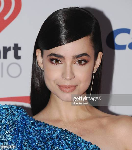 Sofia Carson attends 1027 KIIS FM's Jingle Ball 2017 at The Forum on December 1 2017 in Inglewood California