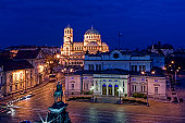 Sofia is the capital and largest city of Bulgaria and the 12th largest city by population in the European Union, with 1.4 million people living in the Capital Municipality. It is located in western Bu