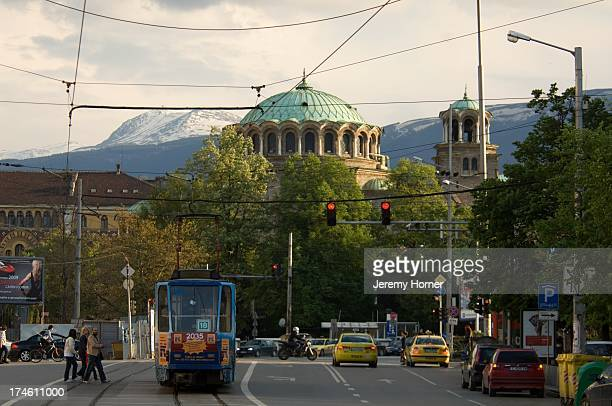Sofia city centre tramway