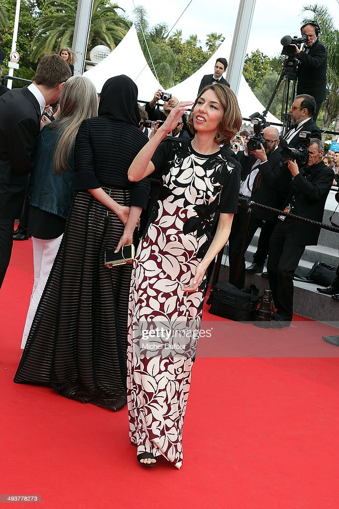 Sofia Copolla attends the red carpet for the Palme D'Or winners at the 67th Annual Cannes Film Festival on May 25, 2014 in Cannes, France.