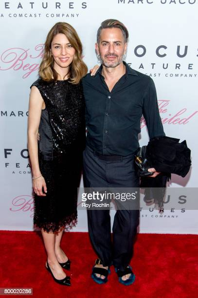 Sofia Coppola and Marc Jacobs attend 'The Beguiled' New York premiere at The Metrograph on June 22 2017 in New York City