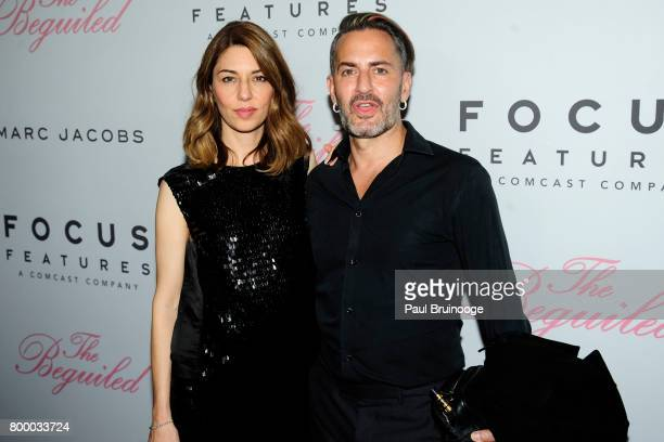 Sofia Coppola and Marc Jacobs attend 'The Beguiled' New York Premiere Arrivals at Metrograph on June 22 2017 in New York City