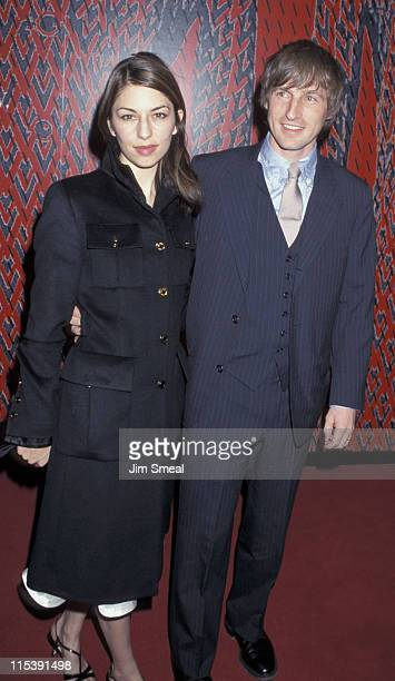 Sofia Coppola and Spike Jonze during Valentino's 40th Anniversary to Benefit Children's Action Network at Pacific Design Center in Los Angeles...