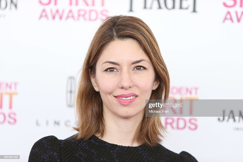 Sofia Coppola arrives at the 2013 Film Independent Spirit Awards held on February 23, 2013 in Santa Monica, California.