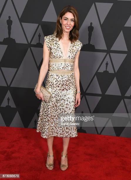 Sofia Coppola arrives at the Academy Of Motion Picture Arts And Sciences' 9th Annual Governors Awards at The Ray Dolby Ballroom at Hollywood Highland...