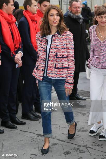Sofia Coppola arrives at the Chanel show as part of the Paris Fashion Week Womenswear Fall/Winter 2017/2018 on March 7 2017 in Paris France