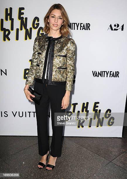 Sofia Coppola arrives at the 'The Bling Ring' Los Angeles Premiere at Directors Guild Of America on June 4 2013 in Los Angeles California
