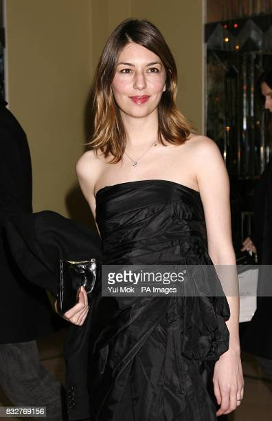 Sofia Coppola arrives for the Marc by Marc Jacobs show at Claridges London