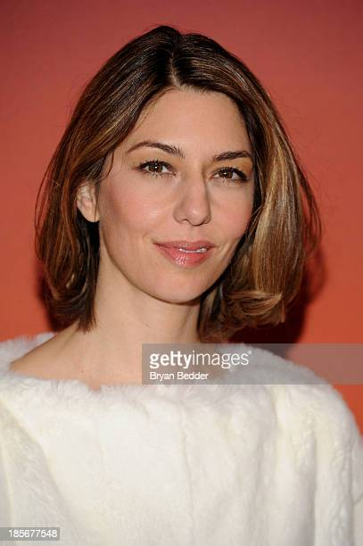 Sofia Coppola arrives for the Whitney Museum of American Art Gala Studio Party 2013 Supported By Louis Vuitton at Skylight at Moynihan Station on...