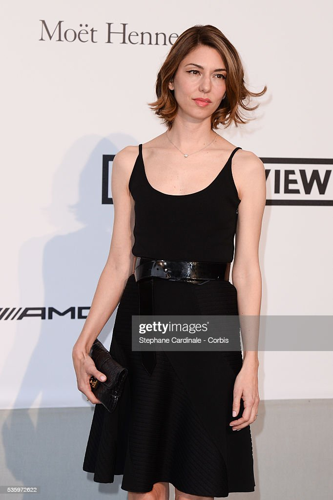 Sofia Coppola at the amfAR's 21st Cinema Against AIDS Gala at Hotel du Cap-Eden-Roc during the 67th Cannes Film Festival