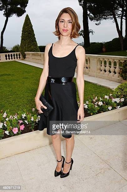 Sofia Coppola attends amfAR's 21st Cinema Against AIDS Gala presented by WORLDVIEW BOLD FILMS and BVLGARI at Hotel du CapEdenRoc on May 22 2014 in...