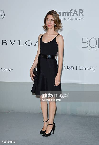 Sofia Coppola attends amfAR's 21st Cinema Against AIDS Gala Presented By WORLDVIEW BOLD FILMS And BVLGARI at the 67th Annual Cannes Film Festival on...