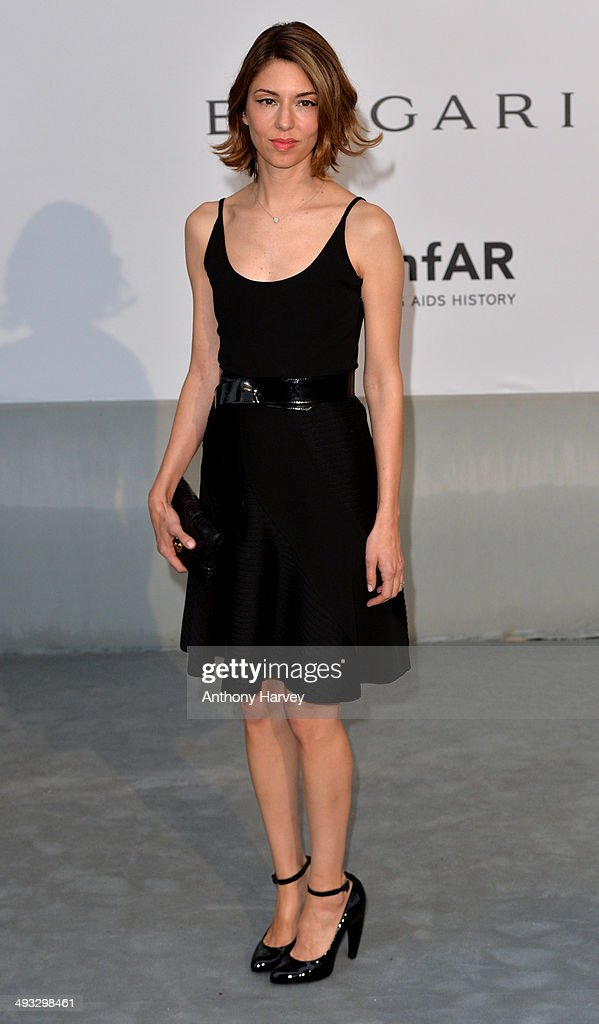 <a gi-track='captionPersonalityLinkClicked' href=/galleries/search?phrase=Sofia+Coppola&family=editorial&specificpeople=202230 ng-click='$event.stopPropagation()'>Sofia Coppola</a> attends amfAR's 21st Cinema Against AIDS Gala, Presented By WORLDVIEW, BOLD FILMS, And BVLGARI at the 67th Annual Cannes Film Festival on May 22, 2014 in Cap d'Antibes, France.