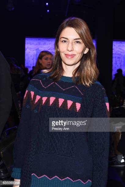 Sofia Coppola attends Anna Sui Fall/Winter 2017 Show at Skylight Clarkson Sq on February 15 2017 in New York City