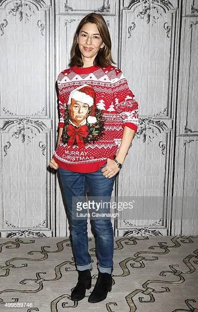 Sofia Coppola attends AOL BUILD Presents Sofia Coppola 'A Very Murray Christmas' at AOL Studios In New York on December 2 2015 in New York City