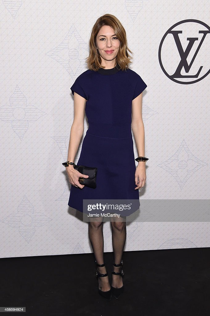 Sofia Coppola attends Louis Vuitton Monogram celebration at Museum of Modern Art on November 7, 2014 in New York City.