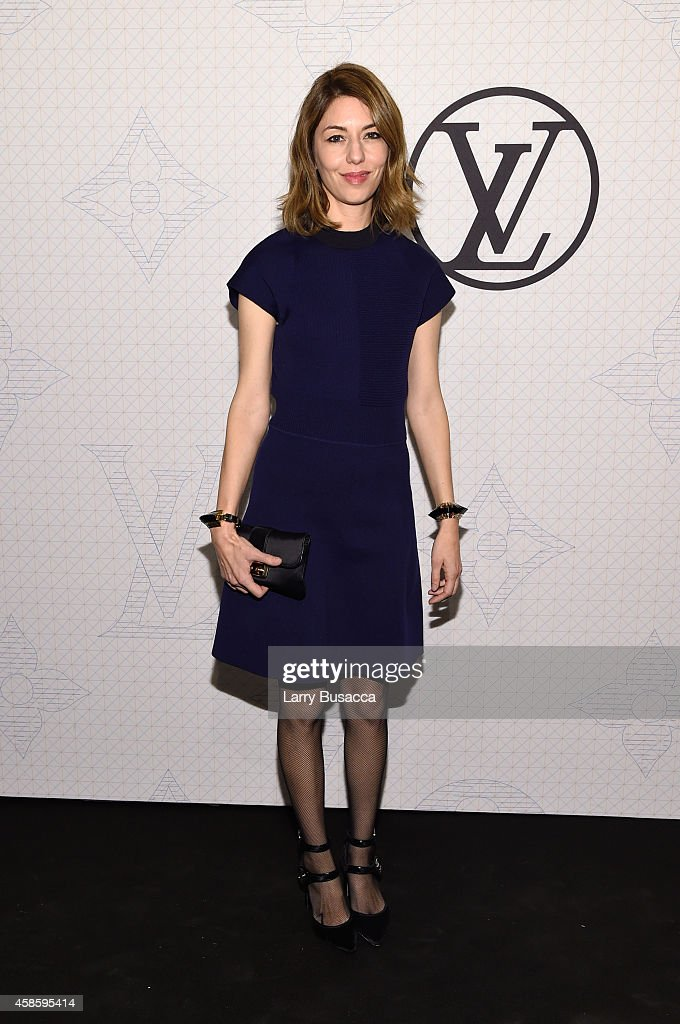 <a gi-track='captionPersonalityLinkClicked' href=/galleries/search?phrase=Sofia+Coppola&family=editorial&specificpeople=202230 ng-click='$event.stopPropagation()'>Sofia Coppola</a> attends Louis Vuitton Monogram celebration at Museum of Modern Art on November 7, 2014 in New York City.