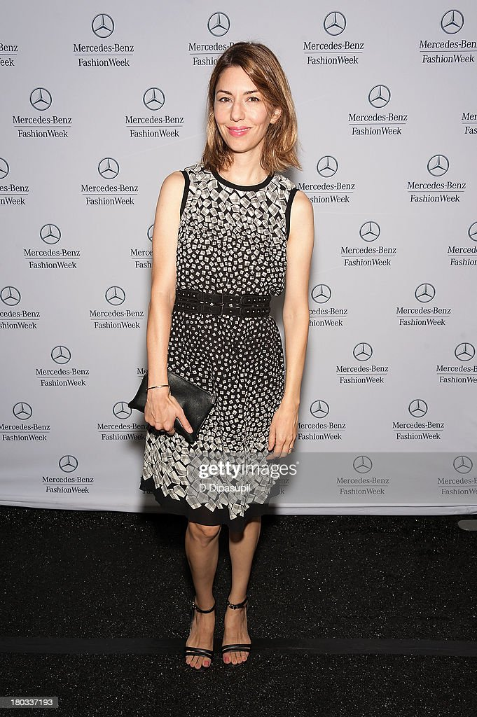<a gi-track='captionPersonalityLinkClicked' href=/galleries/search?phrase=Sofia+Coppola&family=editorial&specificpeople=202230 ng-click='$event.stopPropagation()'>Sofia Coppola</a> attends Mercedes-Benz Fashion Week Spring 2014 at Lincoln Center for the Performing Arts on September 11, 2013 in New York City.