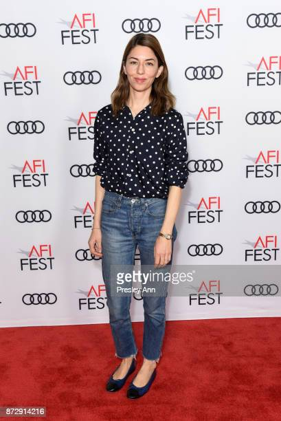 Sofia Coppola attends 'On Directing Sofia Coppola' at AFI FEST 2017 Presented By Audi at TCL Chinese 6 Theatres on November 11 2017 in Hollywood...