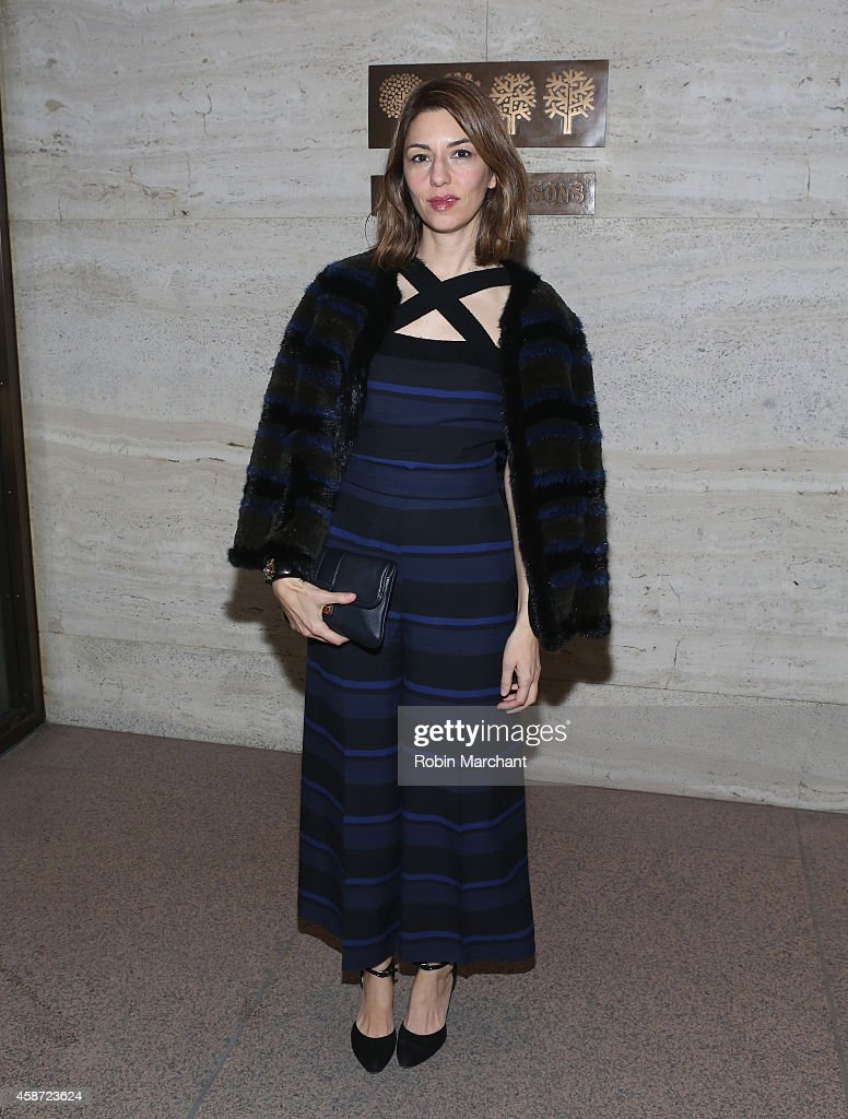 Sofia Coppola attends Project Perpetual's Inaugural Auction Benefiting The United Nations Foundation at Four Seasons Restaurant on November 9, 2014 in New York City.