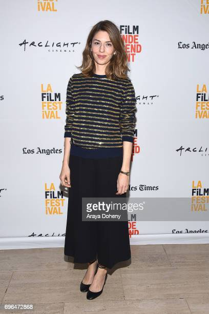 Sofia Coppola attends the 2017 Los Angeles Film Festival 'Lost In Translation' and 'The Beguiled' screenings at LACMA on June 15 2017 in Los Angeles...