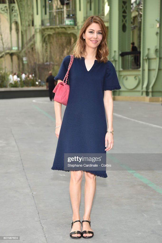 Sofia Coppola attends the Chanel Haute Couture Fall/Winter 2017-2018 show as part of Haute Couture Paris Fashion Week on July 4, 2017 in Paris, France.